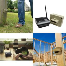 1/2 Mile Long Range Wireless Driveway Alarm Professional Out