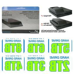 10TB - 2TB Avolusion PS4 Playstation Portable External Hard