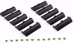 10X Laptop Hard Drive Caddy Covers + Screws For Dell Latitud