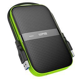 Silicon Power 1TB Black Rugged Portable External Hard Drive