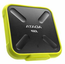 1TB AData SD700 Durable External SSD - USB3.1 Interface - Bl