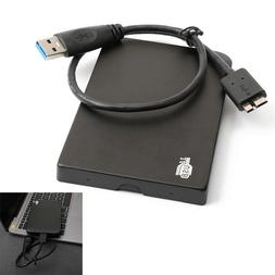 "1TB USB 3.0 Portable External Hard Drive 2.5"" Slim For Deskt"