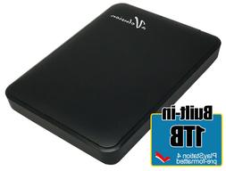 Avolusion 1TB USB 3.0 MacOS Pre-Formatted Portable External Hard Drive