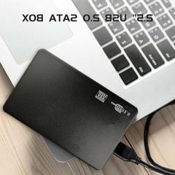 2.5''6TB USB 2.0 Portable External Hard Drive Box Slim SATA
