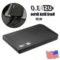 """2.5"""" USB 3.0 1TB/2TB External Hard Drive Disks HDD For PC La"""