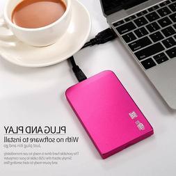 "2.5"" USB3.0 External Mobile Hard Drive Disk HDD 1TB Storage"