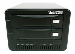 Buslink 12TB 2-Bay RAID 0 USB 3.0/eSATA External Desktop Har