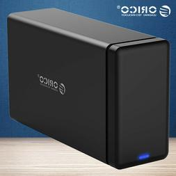ORICO 2 Bay USB 3.1 Type-C Hard Drive Dock HDD Enclosure for