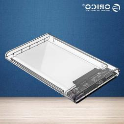 "ORICO 2139U3 Transparent 2.5"" External Hard Drive Enclosure"