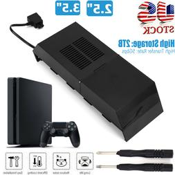 2TB Hard Drive External Box For PS4 Internals Memory Extra S