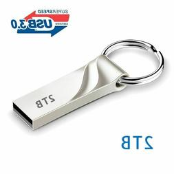 2TB Flash Drive USB 3.0 Memory Stick Pendrive Disk Metal Key