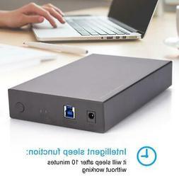 3.5inch USB 3.0 SATA External HDD Enclosure Case Hard Drive