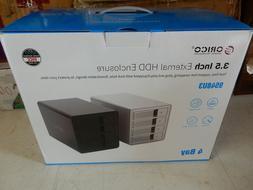 ORICO 4 Bay USB 3.0 to SATA External Hard Drive Enclosure 3.