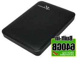 Avolusion 640GB USB 3.0 Portable External Hard Drive for XBO