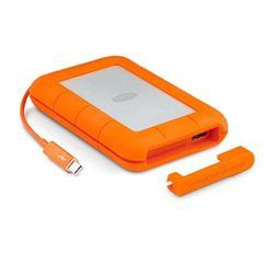 LaCie Rugged 2TB Thunderbolt and USB 3.0 Portable Hard Drive