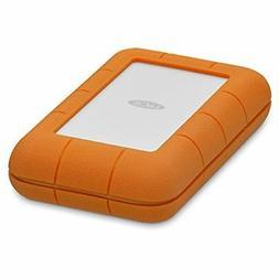 LaCie STFS5000800 Rugged Thunderbolt USB-C 5TB Portable Hard