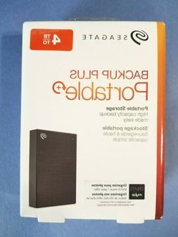 Seagate Backup Plus 4TB External USB 3.0 Portable Hard Drive