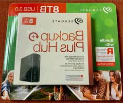 Seagate - Backup Plus Hub 6TB External USB 3.0 Portable Hard