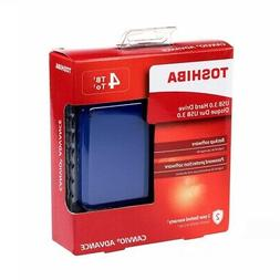 Toshiba Canvio Advance 4TB Portable External Hard Drive USB