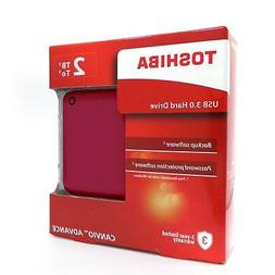 Toshiba Canvio Advance External Portable Hard Drive HDD V9 2