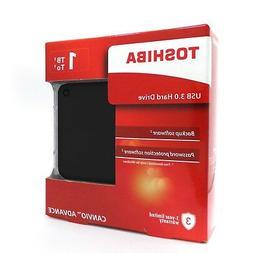 Toshiba Canvio Advance External Portable Hard Drive HDD V9 1