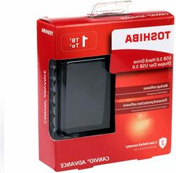 Toshiba Canvio Advance Portable External Hard Drive USB 3.0