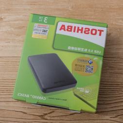 Toshiba Canvio Basics 3TB Portable External HDD Hard Drive U