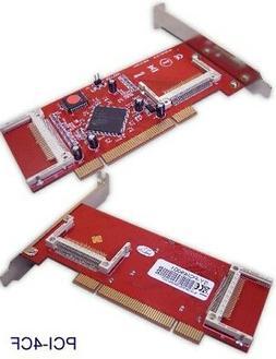 CF PCI Adapter 4 CF Slot Model MM-PCI4CF-V1.0 SY-PCI48001 DE