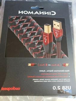 AudioQuest Cinnamon 3m  Digital Audio USB Cable