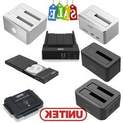 UNITEK External Hard Drive Multi SATA HDD SSD Docking Statio