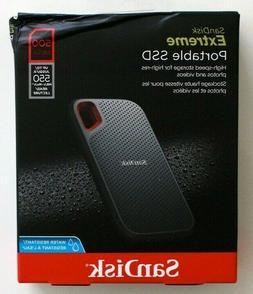 SanDisk Extreme Portable SSD 500GB External Hard Drive - BRA