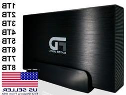 Fantom Drives 1TB-8TB External Hard Drive USB 3.0/3.1 for Ma