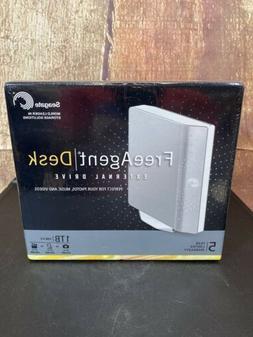 Seagate Free Agent Desk External Hard Drive 2.0 1TB Storage