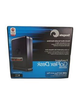 Seagate FreeAgent GoFlex Desk 1TB USB 3.0 External Drive 1 T