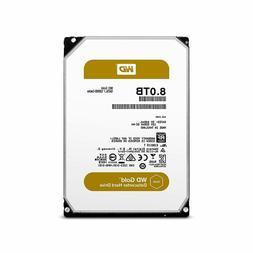 WD Gold 8TB Datacenter Hard Drive 7200 RPM SATA 6 Gb/s 128MB