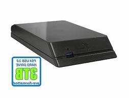 Avolusion HDDGear 3TB  7200RPM 64MB Cache USB 3.0 External P