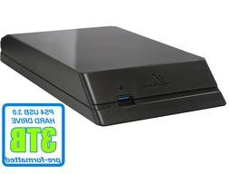 Avolusion  3TB USB 3.0 External Hard Drive For PS4, PS4 Slim