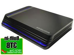 Avolusion HDDGear Pro X 3TB USB 3.0 External Gaming Hard