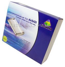IOdisk 250GB Portable USB eSATA HDD AMA-IOD250000-B2N AMA-IO