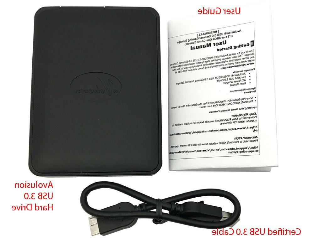 Avolusion 2TB Portable PS4