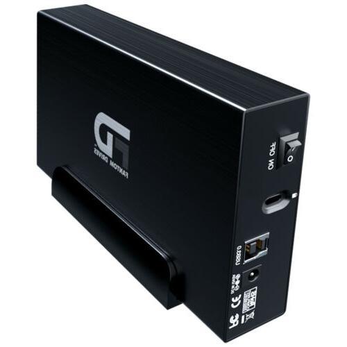Fantom 2TB Hard 3.2 1 - Black - Aluminum