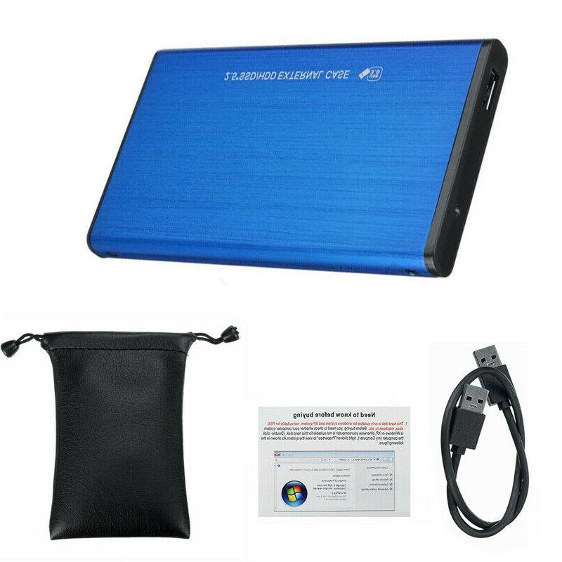 2TB USB 3.0 Portable External Hard Drive Ultra Slim One For