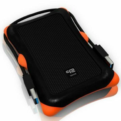 1 Portable External Hard Drive Data