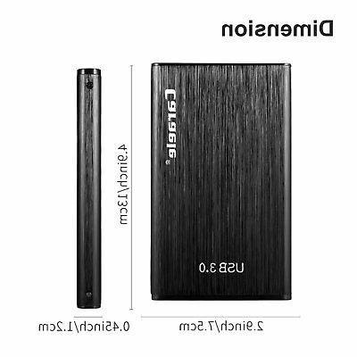 "2TB 2.5""External Hard Slim 10/ 8/ 7"