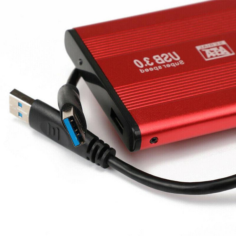 USB 3.0 2TB External Hard Drive Fit Portable