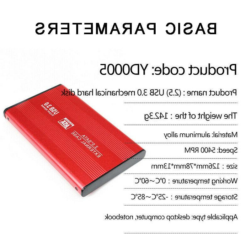 USB External Hard Disk Portable 2.5''