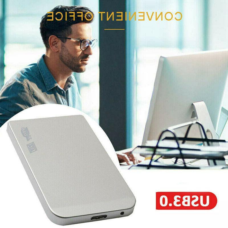 2TB USB3.0 External Hard Drive HD Disk Storage Laptop