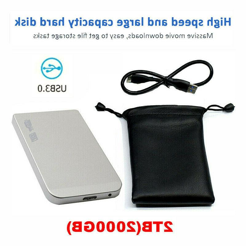 2TB USB3.0 Drive Disk Devices For Laptop