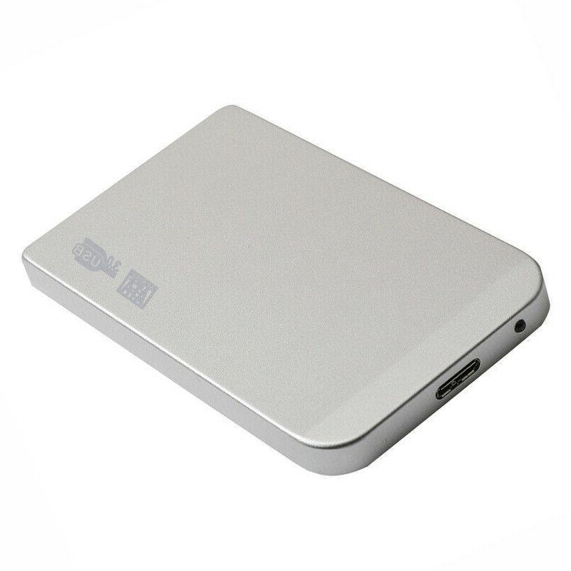 "USB SATA 2.5"" 2TB Hard Drive Storage for Laptop PC"