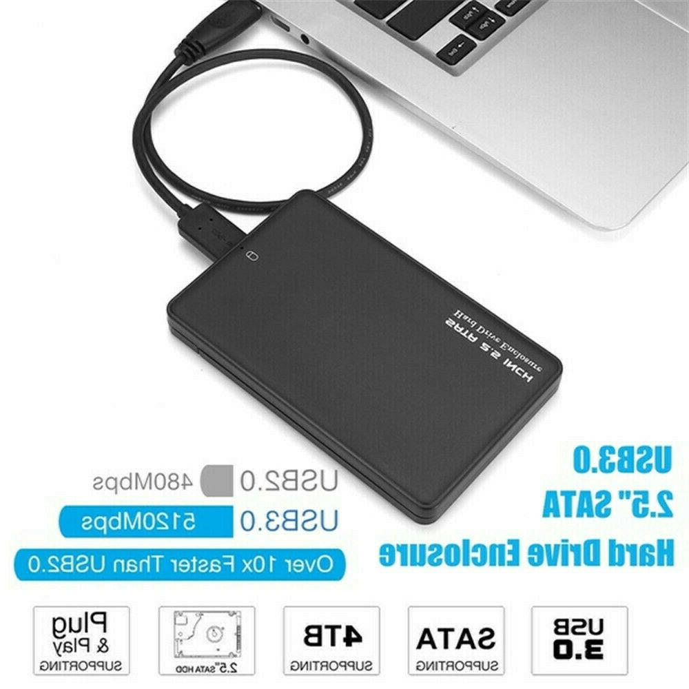 4TB External Drive Box Slim SATA Devices US